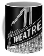 1930s 1940s Theater Marquee Theatre Coffee Mug