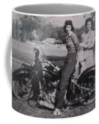 1930's Indian Motorcycle Mama Coffee Mug