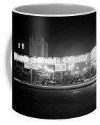 1930s New And Used Car Lot At Night Coffee Mug