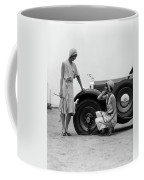 1930s Two Women Confront An Automobile Coffee Mug