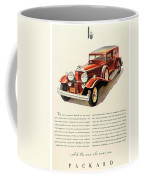 1931 - Packard - Advertisement - Color Coffee Mug