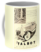 1931 - Talbot French Automobile Advertisement Coffee Mug