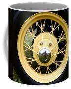 Antique Car Tire Rim Coffee Mug