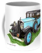 1931 Studebaker President Coffee Mug