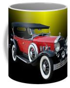 1931 Willys Knight Plaid Side Coffee Mug