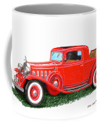 1932 Cadillac Rumbleseat Coupe Coffee Mug