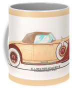 1932 Packard All Weather Roadster By Dietrich Concept Coffee Mug
