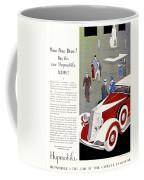 1933 - Hupmobile Sedan Automobile Advertisement - Color Coffee Mug