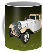 1933 Bentley 3  5  Liter Drop Head Coupe Coffee Mug