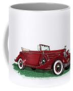 1933 Cadillac Convert Victoria Coffee Mug by Jack Pumphrey