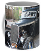 1933 Ford Two Door Sedan Front And Side View Coffee Mug