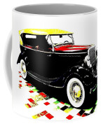1934 Ford Phaeton V8  Coffee Mug