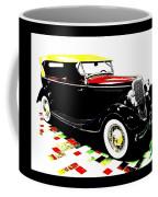 1934 Ford Phaeton V8  Coffee Mug