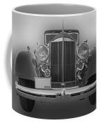 1934 Packard Black And White Coffee Mug