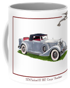 1934 Packard Twelve 1107 Coupe Coffee Mug