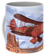 Monument Valley Bi-plane Coffee Mug