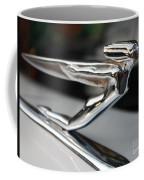 1936 Auburn Super Charger Flying Lady Hood Ornament Coffee Mug