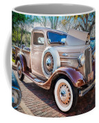 1936 Chevrolet Pick Up Truck Painted    Coffee Mug
