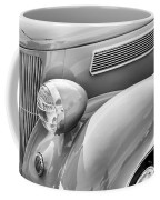 1936 Ford Cabriolet Bw Coffee Mug