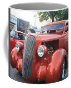 1936 Plymouth Two Door Sedan Front And Side View Coffee Mug
