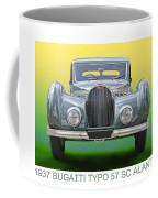 1937 Bugatti 57 S C Atalante Coffee Mug