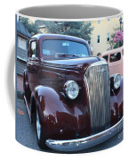 1937 Chevy Two Door Sedan Front And Side View Coffee Mug