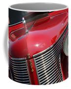 1937 Desoto Front Grill And Head Light 7285 Coffee Mug
