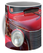 1937 Desoto Front Grill And Head Light-7289 Coffee Mug
