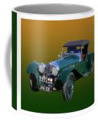 1937 Jaguar S S Onehundred  Coffee Mug