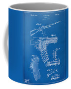 1937 Police Remington Model 8 Magazine Patent Artwork - Blueprin Coffee Mug