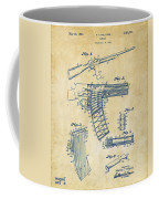 1937 Police Remington Model 8 Magazine Patent Artwork - Vintage Coffee Mug by Nikki Marie Smith