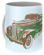 1938 Cadillac Lasalle Antique Pop Art Coffee Mug