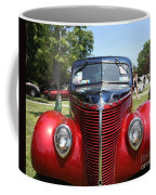 1938 Ford Two Door Sedan Front View Coffee Mug