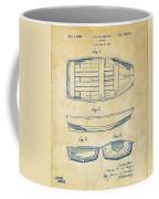 1938 Rowboat Patent Artwork - Vintage Coffee Mug by Nikki Marie Smith