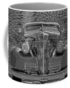1939 Chevy Immenent Front Bw Art Coffee Mug