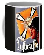 1939 German Luftwaffe Recruiting Poster - Color Coffee Mug