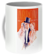 1940 - Arrow Shirts Hans Flato Advertisement - 1940 Coffee Mug