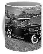 1940 Cadilac Bw Coffee Mug