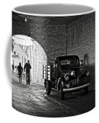 1940 Chevrolet Pickup Truck In Alcatraz Prison Coffee Mug by RicardMN Photography