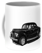 1940 Ford Restro Rod Coffee Mug by Jack Pumphrey