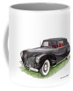 Lincoln Zephyr Cabriolet Coffee Mug