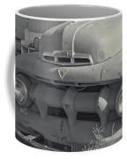 1940's Ford Truck Black And White Coffee Mug