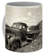 1941 Chevy Truck In Sepia Coffee Mug