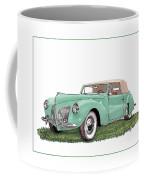 1941 Lincoln V-12 Continental Coffee Mug