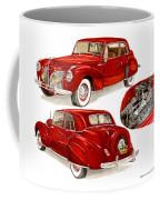 1941 V 12  Lincoln Continental Coffee Mug
