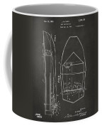 1943 Chris Craft Boat Patent Artwork - Gray Coffee Mug