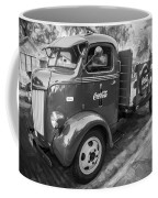 1947 Ford Coca Cola C.o.e. Delivery Truck Bw Coffee Mug