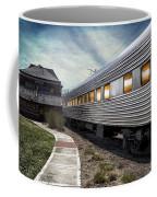 1947 Pullman Coach Train Car Textured Coffee Mug