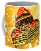 1948 Chevy Gold Acid Art Coffee Mug