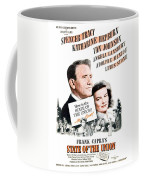 1948 - State Of The Union Motion Picture Poster - Spencer Tracy - Katherine Hepburn - Mgm - Color Coffee Mug
